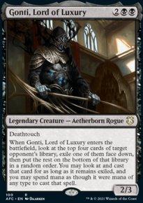 Gonti, Lord of Luxury - D&D Forgotten Realms Commander Decks
