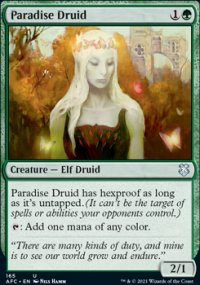 Paradise Druid - D&D Forgotten Realms Commander Decks