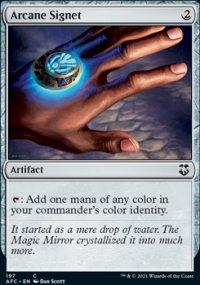 Arcane Signet - D&D Forgotten Realms Commander Decks