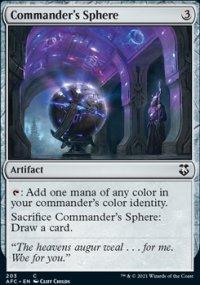 Commander's Sphere - D&D Forgotten Realms Commander Decks