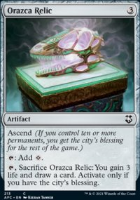 Orazca Relic - D&D Forgotten Realms Commander Decks