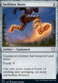 Swiftfoot Boots - D&D Forgotten Realms Commander Decks