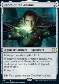Sword of the Animist - D&D Forgotten Realms Commander Decks