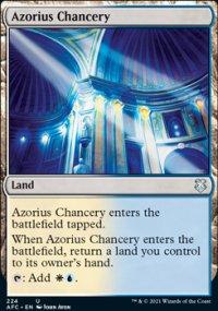 Azorius Chancery - D&D Forgotten Realms Commander Decks