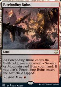 Foreboding Ruins - D&D Forgotten Realms Commander Decks