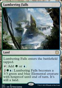 Lumbering Falls - D&D Forgotten Realms Commander Decks