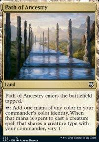 Path of Ancestry - D&D Forgotten Realms Commander Decks