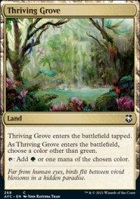Thriving Grove - D&D Forgotten Realms Commander Decks