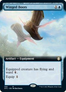 Winged Boots 2 - D&D Forgotten Realms Commander Decks