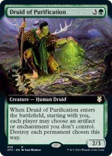 Druid of Purification 2 - D&D Forgotten Realms Commander Decks