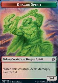 Dragon Spirit - D&D Forgotten Realms Commander Decks
