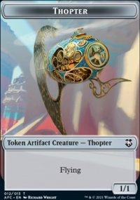 Thopter - D&D Forgotten Realms Commander Decks