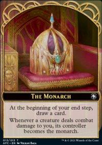 The Monarch - D&D Forgotten Realms Commander Decks