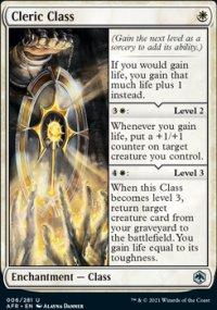 Cleric Class -