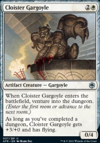 Cloister Gargoyle 1 - Dungeons & Dragons: Adventures in the Forgotten Realms