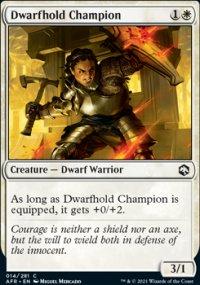 Dwarfhold Champion -