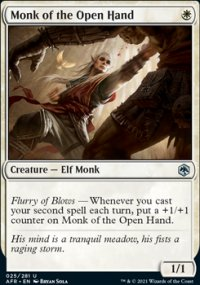 Monk of the Open Hand -