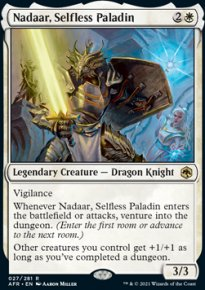 Nadaar, Selfless Paladin 1 - Dungeons & Dragons: Adventures in the Forgotten Realms