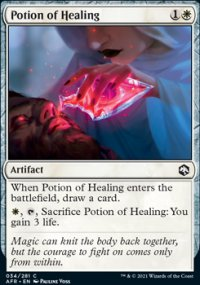Potion of Healing -