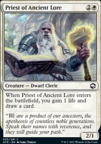 Priest of Ancient Lore -