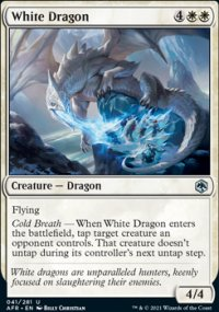 White Dragon 1 - Dungeons & Dragons: Adventures in the Forgotten Realms