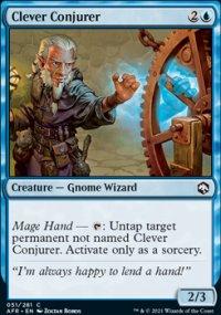 Clever Conjurer -