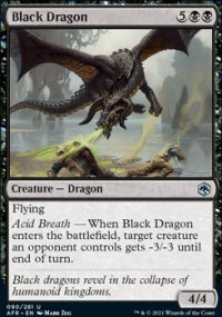 Black Dragon 1 - Dungeons & Dragons: Adventures in the Forgotten Realms