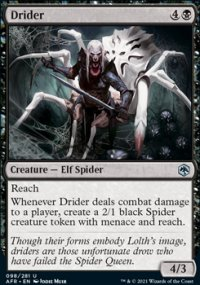Drider - Dungeons & Dragons: Adventures in the Forgotten Realms