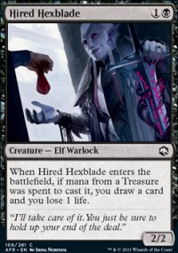 Hired Hexblade - Dungeons & Dragons: Adventures in the Forgotten Realms