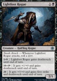 Lightfoot Rogue -