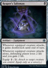 Reaper's Talisman -