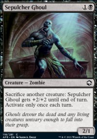 Sepulcher Ghoul -