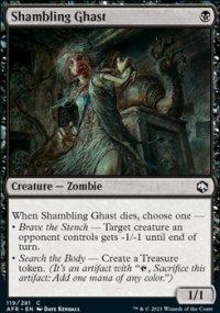 Shambling Ghast -