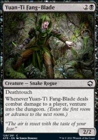 Yuan-Ti Fang-Blade -