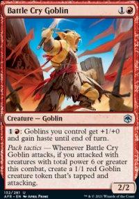 Battle Cry Goblin -