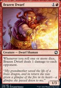 Brazen Dwarf - Dungeons & Dragons: Adventures in the Forgotten Realms