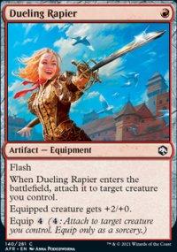 Dueling Rapier -