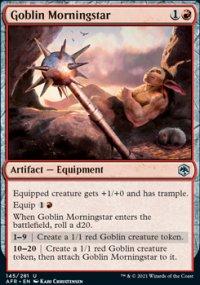 Goblin Morningstar -