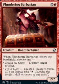 Plundering Barbarian -