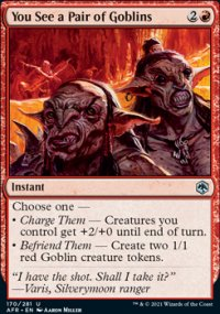 You See a Pair of Goblins - Dungeons & Dragons: Adventures in the Forgotten Realms