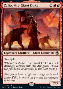Zalto, Fire Giant Duke 1 - Dungeons & Dragons: Adventures in the Forgotten Realms
