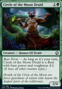 Circle of the Moon Druid -