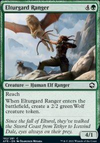 Elturgard Ranger -