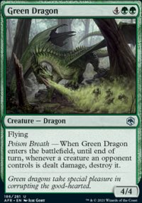 Green Dragon 1 - Dungeons & Dragons: Adventures in the Forgotten Realms
