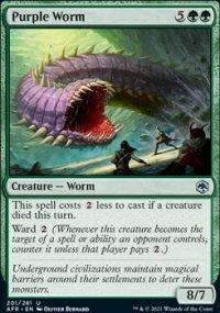 Purple Worm -