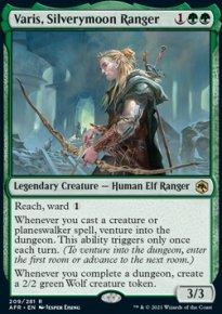 Varis, Silverymoon Ranger -
