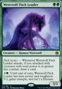 Werewolf Pack Leader 1 - Dungeons & Dragons: Adventures in the Forgotten Realms