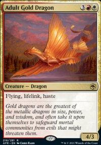 Adult Gold Dragon -