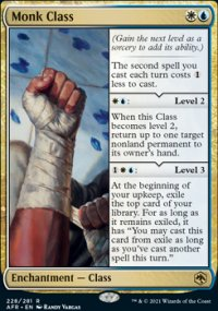Monk Class -