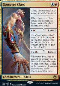 Sorcerer Class -